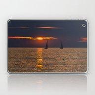 Summer Sunset On The Bal… Laptop & iPad Skin