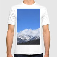 Hidden Peak Mens Fitted Tee White SMALL
