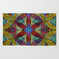 The Flower of Life (Sacred Geometry) Rug