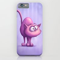 iPhone & iPod Case featuring The Cat by Tooshtoosh