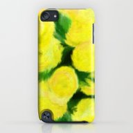 Yellow Flowers II iPod touch Slim Case