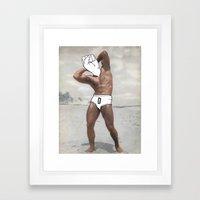 Knuckle Head Framed Art Print