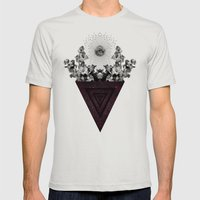 T.E.A.T.C.W. Mens Fitted Tee Silver SMALL