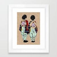 Asakusa Matsuri Framed Art Print