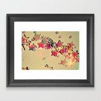 Change Your Stars Framed Art Print
