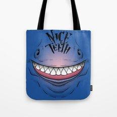 Nice Teeth Tote Bag