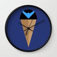 Neapolitan Nightwing Wall Clock
