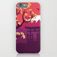 japan iPhone & iPod Cases featuring Japan by Marko Stupic