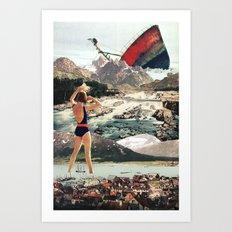 The Wreck Art Print