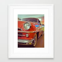 Framed Art Print featuring Beauty queen by Vorona Photography