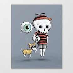 Skull Kid Canvas Print