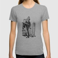 Wait, it's gonna be interesting (touch the ground) - Emilie Record Womens Fitted Tee Athletic Grey SMALL