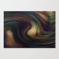Melting Chaos Canvas Print