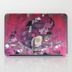 Dont Worry - Party Hard (Pink) Close Up iPad Case