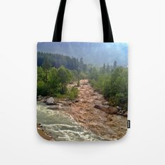 Good and Bad things come together Tote Bag
