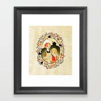 Sweet Porridge: Mother A… Framed Art Print