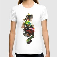 color study 1 Womens Fitted Tee White SMALL