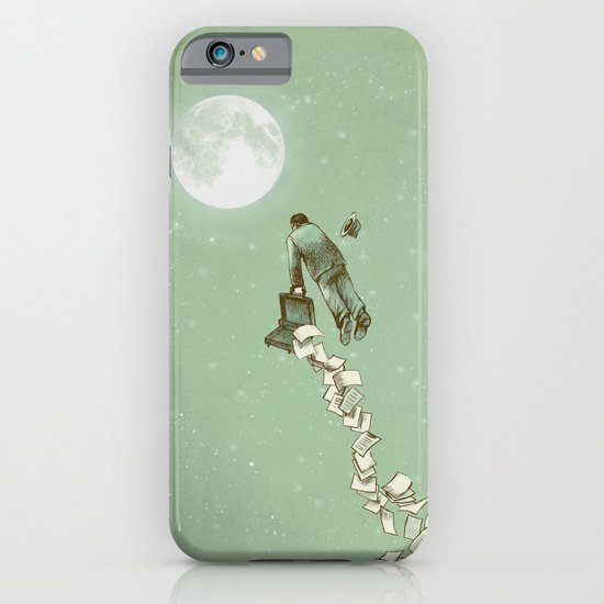 Solitary Flight iPhone & iPod Case