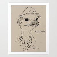 The Adventurer Art Print