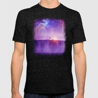 Orion Nebula II Mens Fitted Tee Tri-Black SMALL