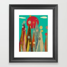 Pleasure Peaks Framed Art Print