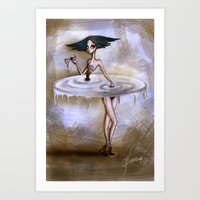 Not Weird Art Print