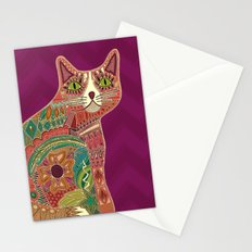 sugar cat Stationery Cards
