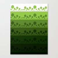 Green Palette Ultimate Canvas Print