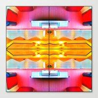 Crazy Carl's Quad 3 Canvas Print