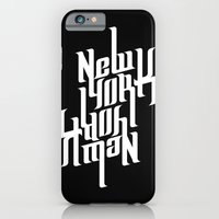 iPhone & iPod Case featuring NEW YORK by Kojó Tamás