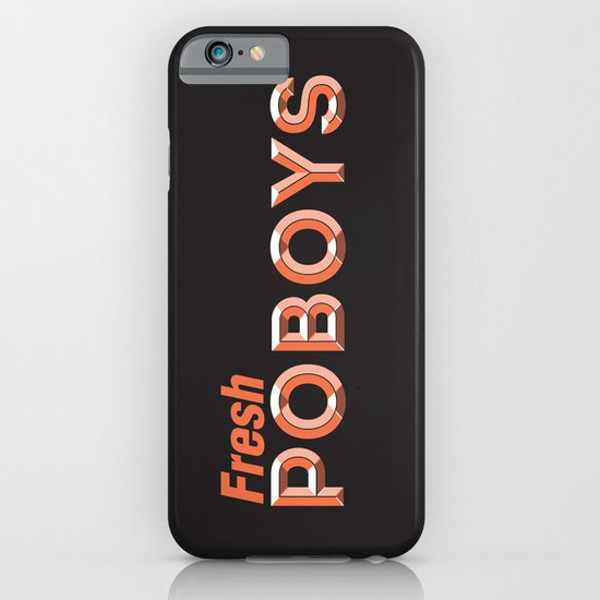 Fresh Poboys iPhone & iPod Case