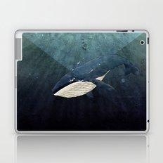 Everett's Whale Laptop & iPad Skin