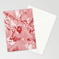 The red mask Stationery Cards