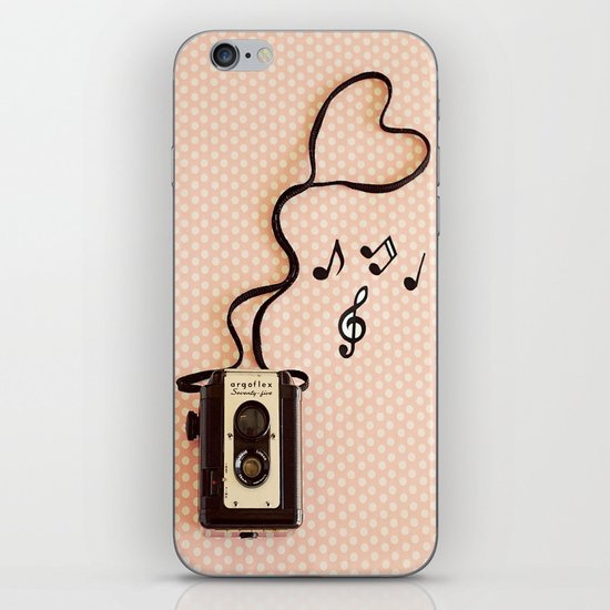 Photography makes my heart sing iPhone & iPod Skin