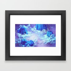 Nonsense Island Framed Art Print