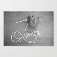 Wrong Apple Canvas Print
