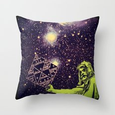 Dark Spell of Subversion Throw Pillow