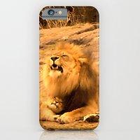 iPhone & iPod Case featuring Yawn in Bronx Zoo by Giorgia Giorgi