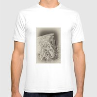 Yosemite Half Domes Back… Mens Fitted Tee White SMALL