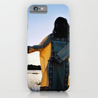 iPhone & iPod Case featuring WAYUU YOUNG NATIVE LADY by David Hernández-Palmar
