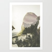 Within Nature Art Print