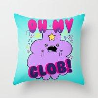 Lumpy Space Princess Throw Pillow