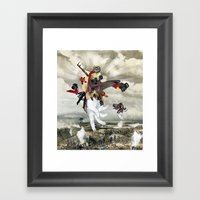 Mingadigm | Let There Be… Framed Art Print