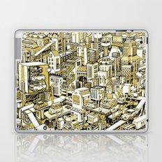 City Machine - Gold Laptop & iPad Skin