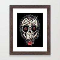 Muerte Acecha Framed Art Print