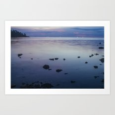 Sunset, Koh Phangan 02 Art Print