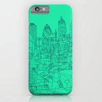 iPhone & iPod Case featuring London! Mint by David Bushell