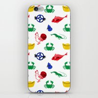 Fish Prawn Crab iPhone & iPod Skin