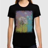 Dandelion Womens Fitted Tee Black SMALL