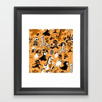 Alt Monster March (Orang… Framed Art Print